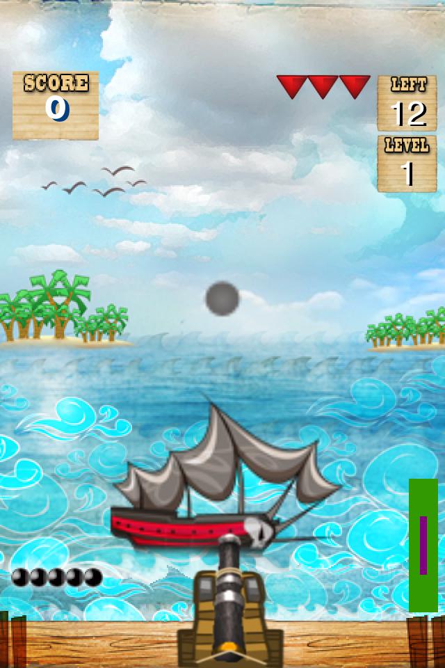 Screenshot iPirate Cannon Lite